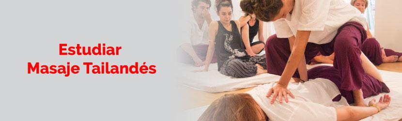 Estudiar masaje tailandésen los mejores centros de España o Tailandia en clases colectivas con prácticas desde el primer día.