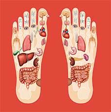 Cursos de reflexologia podal oriental-beneficios de la reflexología de pies y manos