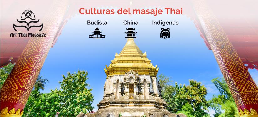 La historia del masaje tailandés está ligado a las 3 culturas del masaje thai india, china e indígena