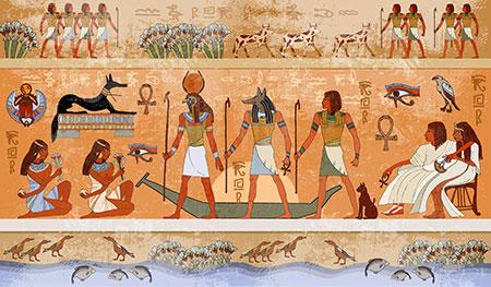 La cultura egipcia ya hablaba de la fitoterapia en sus papiros para ensalzar sus virtudes medicinales.