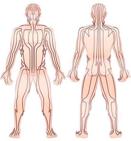 El masaje tailandés trabaja sobre los puntos energéticos de la persona.