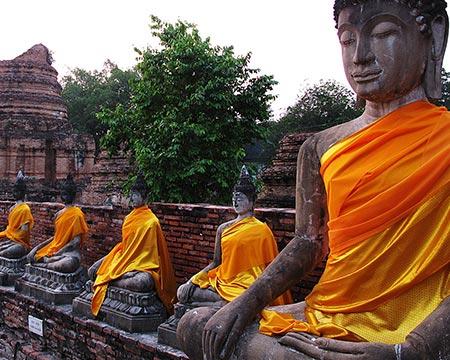 Los monasterios budistas difundieron el masaje tradicional tailandés.