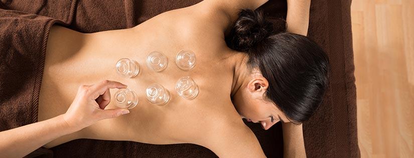 Según la Medicina Tradicional China, las ventosas del Cupping se colocan sobre los puntos Ashi del cuerpo.