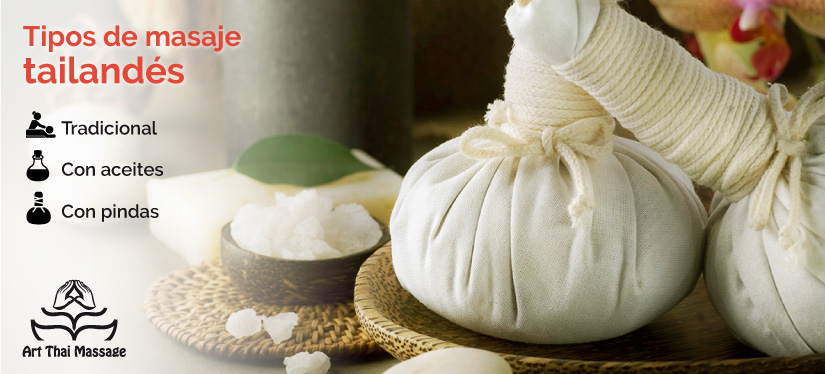 Conoce los tipos de masajes tailandés, con pindas se basa en aplicar saquitos con hierbas calientes.