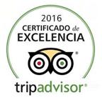 Certificado de excelencia ATM en Trip Advisor