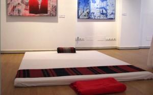 Masaje Thai y Galería de arte en un mismo espacio