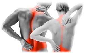 Contractura muscular de espalda
