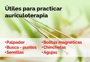 Qué es la auriculoterapia y cuáles son los instrumentos que se utilizan para practicar esta terapia alternativa.
